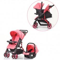 Mom & Kids - Mom & Kids Çift Yönlü Travel Sistem Bebek Arabası