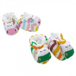 Mini Damla - Mini Damla Oyuncaklı Bebek Patiği - Hipopotam