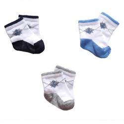 Baby Wear - 3 lü Bebek Çorabı 0-3 Ay
