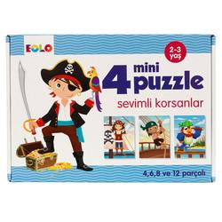 Eolo - Eolo 4 Mini Puzzle - Sevimli Korsanlar