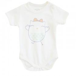 Baby Tongs - Baby Tongs Kısa Kollu Badi - Turuncu