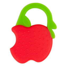 Bebedor - Bebedor Silikon Meyve Dişlik - Çilek