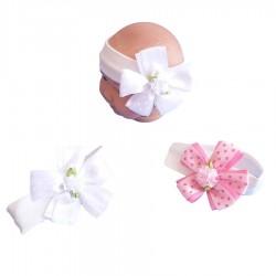 Bonnet - Çiçekli Bebek Bandana