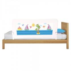 Quqca - Quqca Sailor Jumbo Katlanabilir Yatak Bariyeri - 150x68 cm