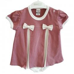 Gaye Bebe - Puanlı Bebek Elbise Body