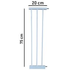 Evokids - Evokids Çift Kilitli Güvenlik Kapı - Uzatma Aparatı - 20 Cm
