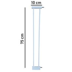 Evokids - Evokids Çift Kilitli Güvenlik Kapı - Uzatma Aparatı - 10 Cm