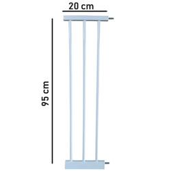 Evokids - Evokids Ekstra Uzun Çocuk Güvenlik Kapı - Uzatma Aparatı - 20 Cm