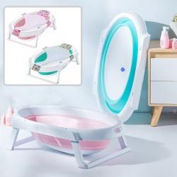 Evokids - Evokids Oval Katlanabilir Bebek Banyo Küveti + File Hediyeli