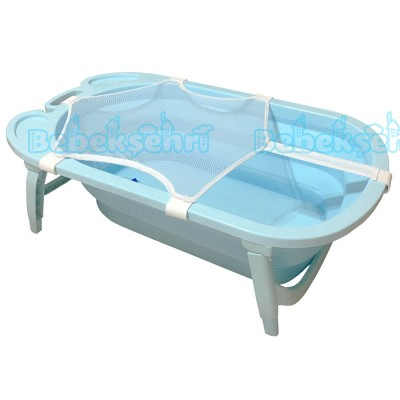 Evokids Katlanabilir Bebek Banyo Küveti