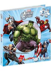 - Marvel Avengers Assemble İlk Yapboz Kitabım Beta Kids