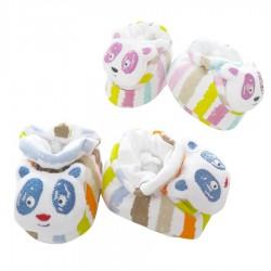 Mini Damla Oyuncaklı Bebek Patiği - Thumbnail