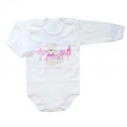 Baby Wear - Sevimli Ayıcık Penye Bebek Badisi