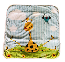 Evokids - Story Baby Zürafalı Bebek Battaniyesi