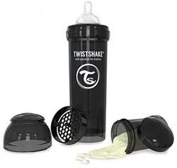 TWISTSHAKE - Twistshake Anti-Colic 330ml Biberon Siyah